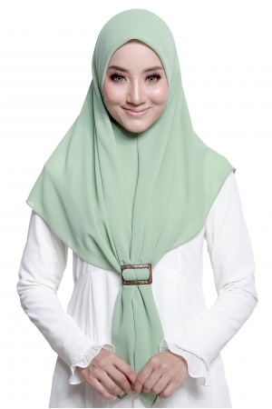 Bawal Express Plain in Apple Green