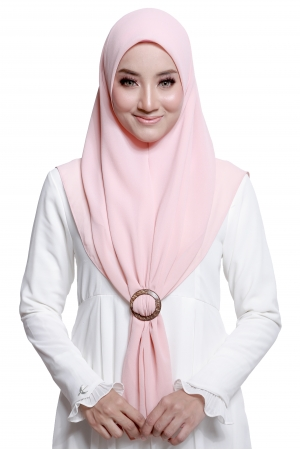 Bawal Express Plain in Candy Peach