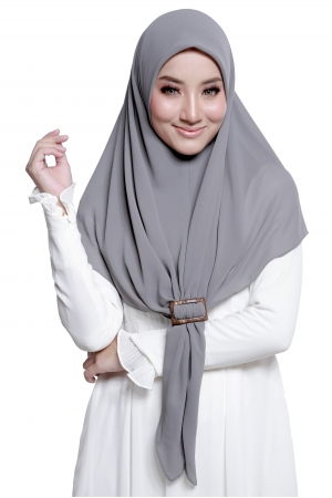 Bawal Express Plain in Dark Grey