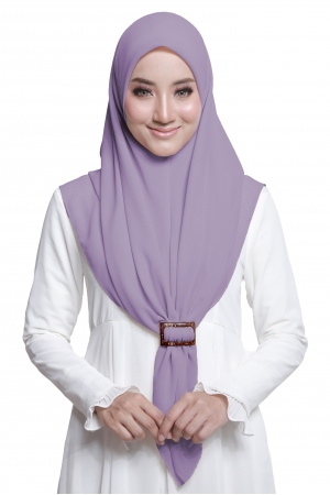Bawal Express Plain in Dusty Purple