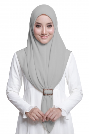 Bawal Express Plain in Light Grey