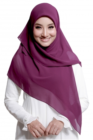 Bawal Express Plain in Purple