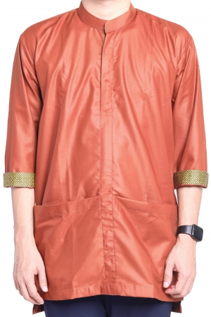 Kurta Amin Kasual in Dark Brown
