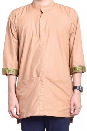 Kurta Amin Kasual in Light Brown