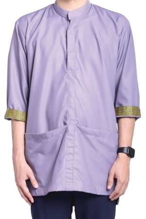Kurta Amin Kasual in Light Purple