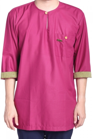 Kurta Amin Kelasik in Purple