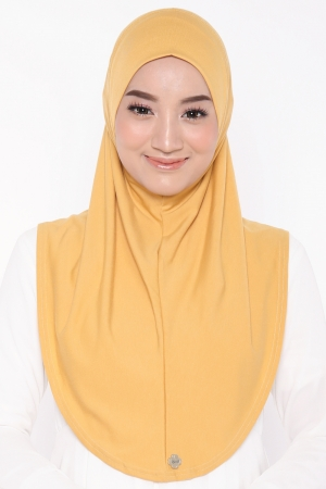 Let's Sarung Plain in Yellow